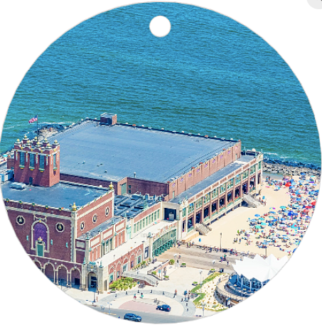 Asbury Park Convention Hall Ornament