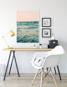 Fine Art Print- Pink Waves 8 x 10