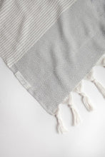 Hare Turkish Towel: LIGHT GREY