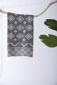 Tribe Turkish Towel: BLACK