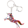 Image of Acrylic Unicorn Key Chain