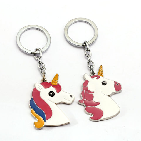 Fairytale Unicorn Keychain Ring Holder