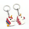 Image of Fairytale Unicorn Keychain Ring Holder