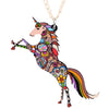 Image of Lovely Unicorn Necklace Pendant