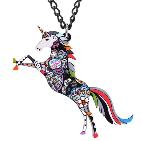 Lovely Unicorn Necklace Pendant