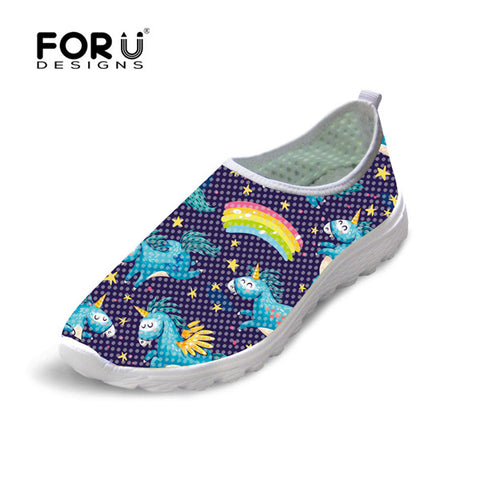 Women Casual Unicorn Breathable Shoes