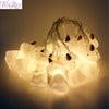 Image of FENGRISE 10 Unicorn Head LED Lights String Christmas Ornaments New Year Gifts Christmas Home Decor Halloween Party Supplies