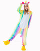 Image of Unicorn Onesie Winter Nightie For Women