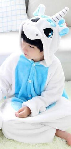 Children Onesie Unicorn Pajamas
