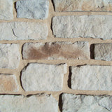 Stone Veneer - Lime Stone White Oak - Mountain View Stone