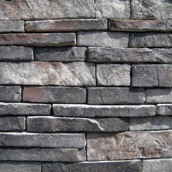 Stone Veneer - Stack Stone Midnight - Mountain View Stone