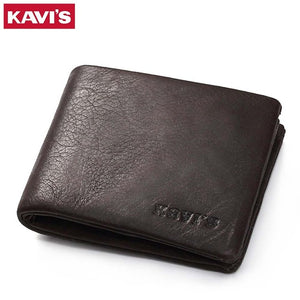 Genuine Leather Wallet Men Coin Purse Small Walet Portomonee Mini Slim PORTFOLIO Rfid Male Cuzdan Perse Pocket Fashion Money Bag