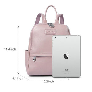 BOSTANTEN Backpack Women Female Genuine Leather Backpacks Purse Fashion Blue Black Pink School Bags for Women Backpacks