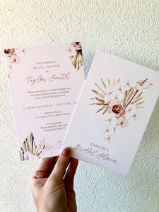 Bridal Shower Invitations // Our Latest Designs