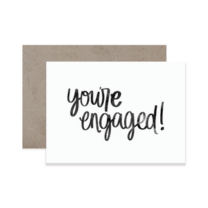Engaged Greeting Card