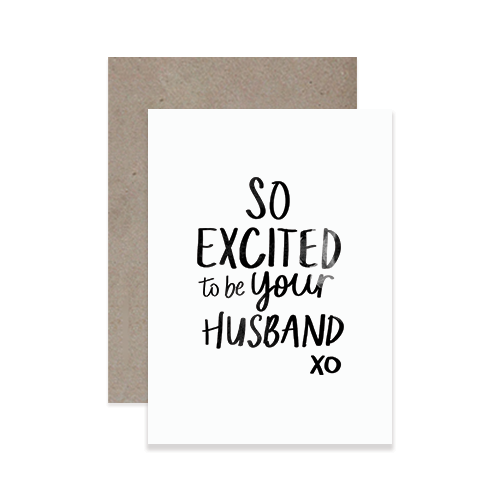 Your Husband Greeting Card