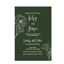 Wild Boheme // Luxe Wedding Invitation