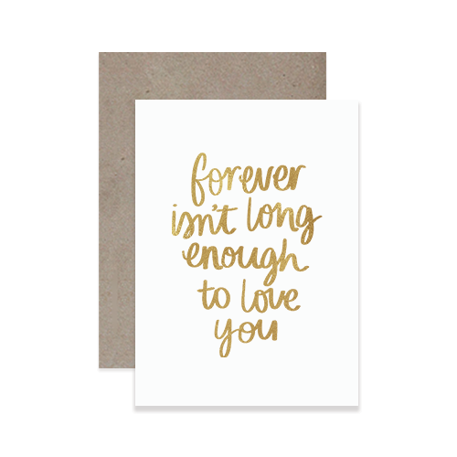 Forever Greeting Card