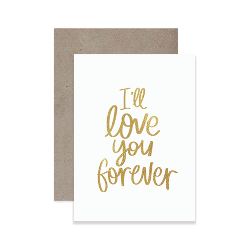 Love Forever Greeting Card