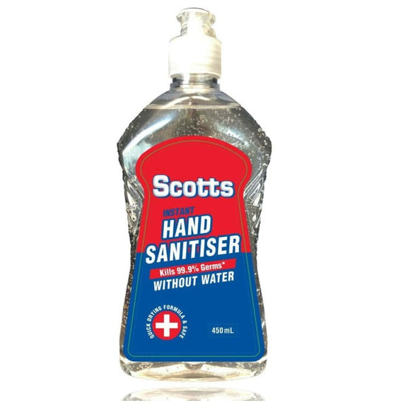 HAND SANITISER SCOTTS 450ML