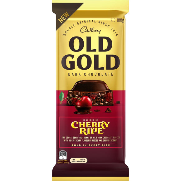 OLD GOLD CHERRY RIPE 180G X 15