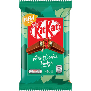 KITKAT MINT COOKIE FUDGE 45G X 40