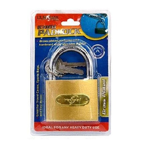 Padlock-63mm-Brass Plated