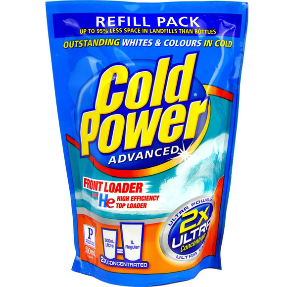 COLD POWER LAUNDRY LIQUID 500ML
