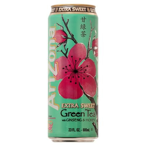 ARIZONA GREEN TEA EXTRA SWEET 680ML X 24