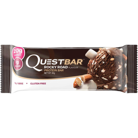 QUEST BAR ROCKY ROAD 60G X 12