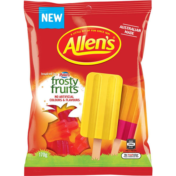 ALLEN`S FROSTY FRUITS 170G X12