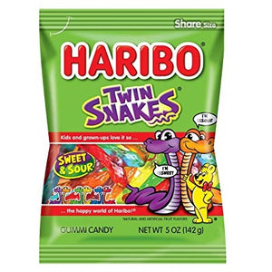 HARIBO TWIN SNAKES 142G X 12
