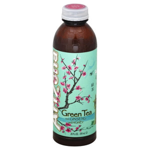 ARIZONA BOTTLE GREEN TEA 591ML X 24