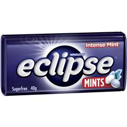 ECLIPSE MINTS INTENSE 40G X 12