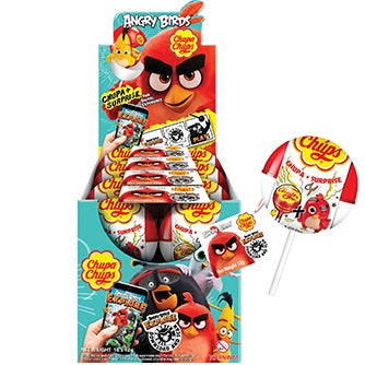 CHUPA CHUPS SURPRISE ANGRY BIRDS 12G X 16