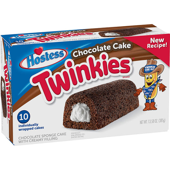 HOSTESS TWINKIES CHOCOLATE CAKE 38.5G X 10