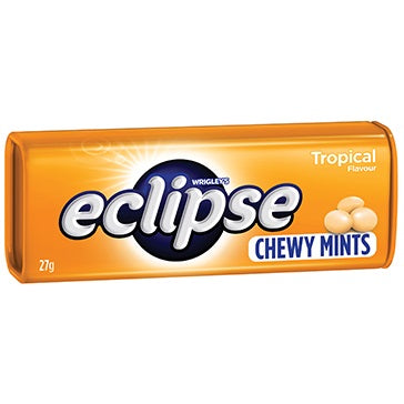 ECLIPSE CHEWY MINTS TROPICAL 27G X 20