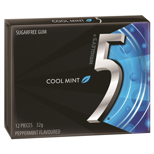 5 GUM COOL MINT 12'S X 10 X 32G