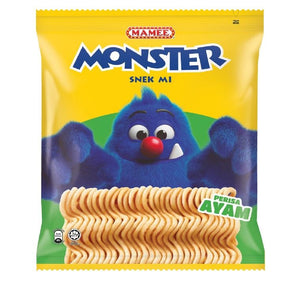 MAMEE MONSTER NOODLES 25G X 8 X 10