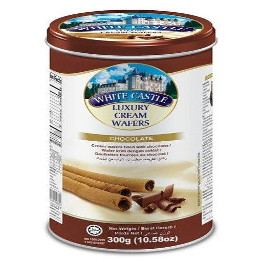 WHITE CASTLE CHOCOLATE WAFER 300G X 12
