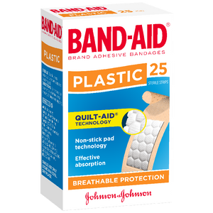 BAND-AID BRAND STRIPS 25'S X 6