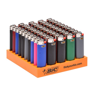 BIC LARGE LIGHTERS TRAY 50pk