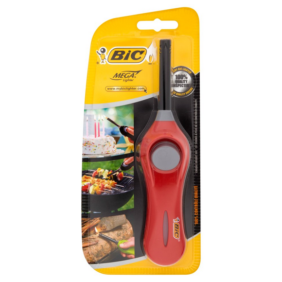 BIC MEGA LIGHTER SHORT X 10PC