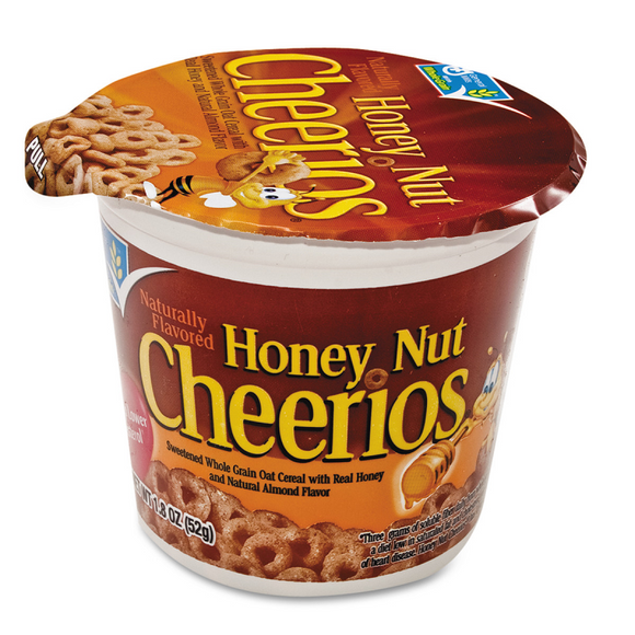 CHEERIOS HONEY NUT CUPS 52G X 6