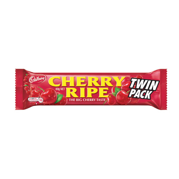 CHERRY RIPE TWIN PACK 80G X 36