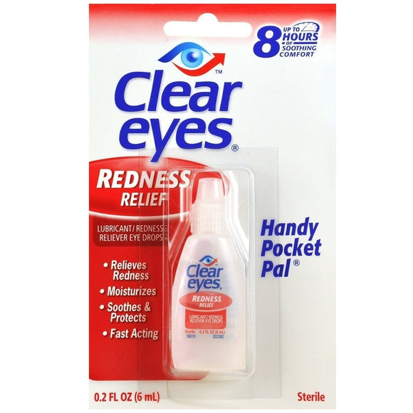 CLEAR EYES REDNESS RELIEF 6ML X 12