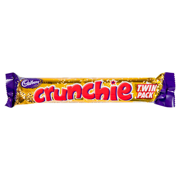 CRUNCHIE TWIN PACK 80G X 24