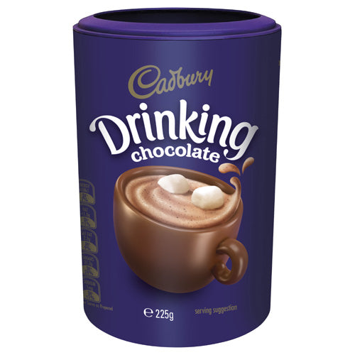 CADBURY DRINKING CHOCOLATE 225G