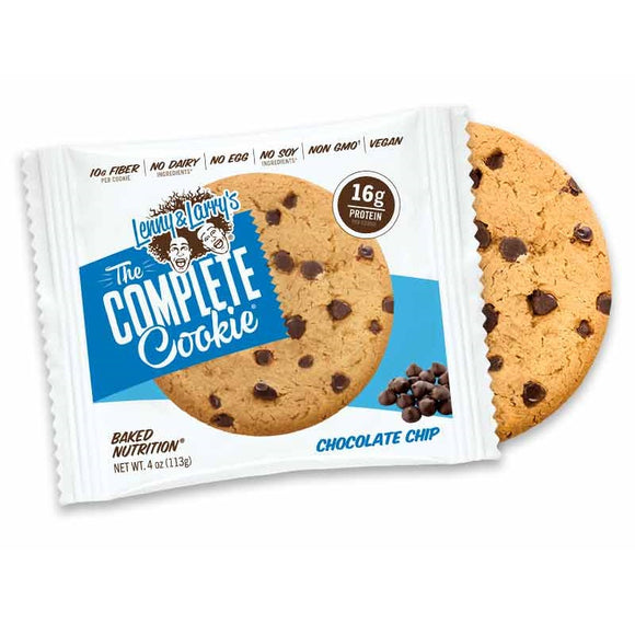 LENNY AND LARRYS COMPLETE COOKIE BAR CH CHIP 113G X 12