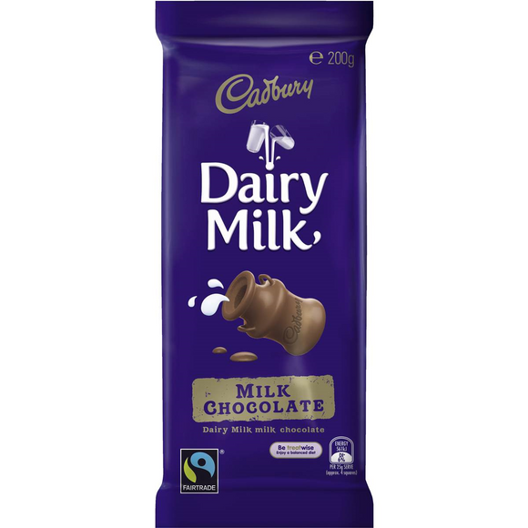 DAIRY MILK CHOCOLATE 180G X 16